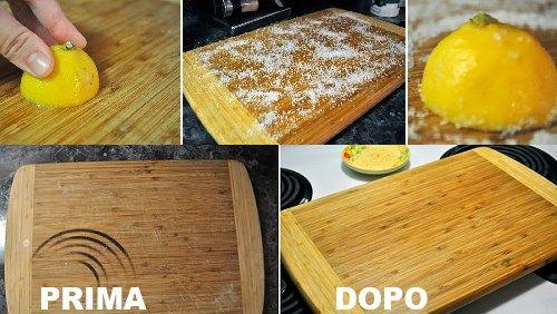 Taglieri e utensili di legno: come pulirli correttamente - GreenMe.it
