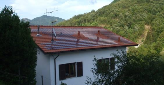 tegola fotovoltaica mono
