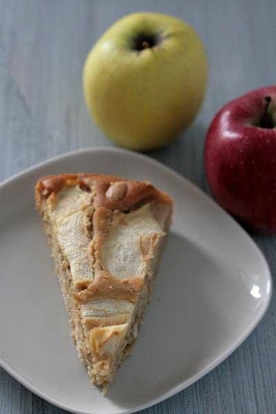 torta di mele vegan 2