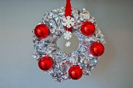 alluminio 9 decorazioni natale