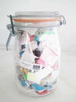 conteggio rifiuti