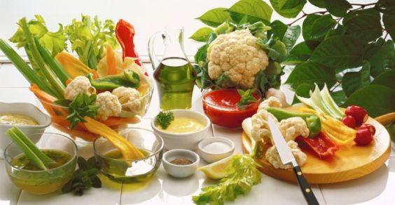 dieta vegetariana reni