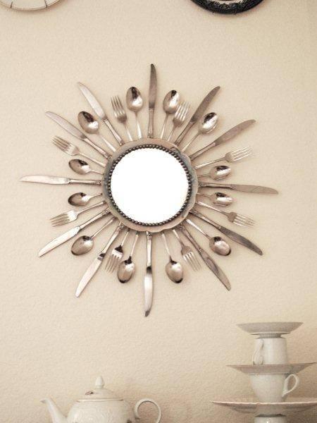ricciclo posate 1 specchio