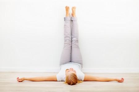 yoga viparita karani
