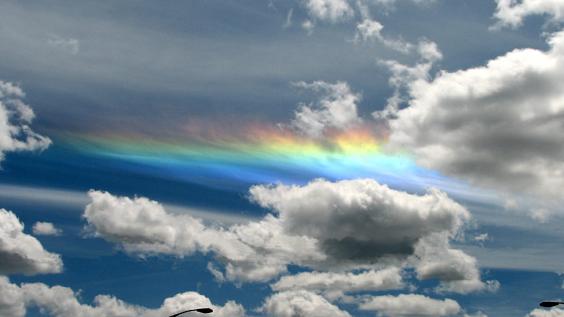 arcobaleno fuoco