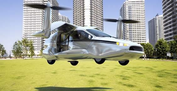 auto elettrica volante