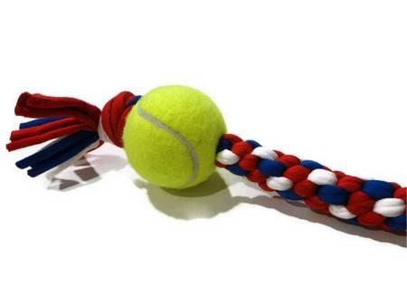 palline tennis 1 giocattoli animali - fonte foto: pinterest.com