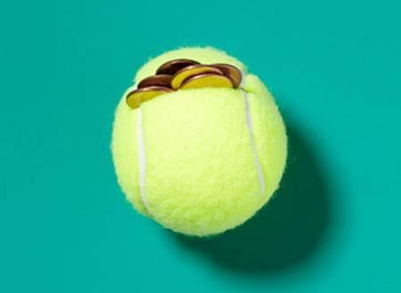 palline tennis 6 salvadanaio - fonte foto: realsimple.com