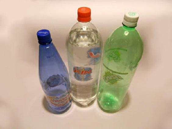scatole bottiglie
