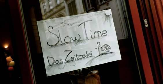 slow time cafe cover