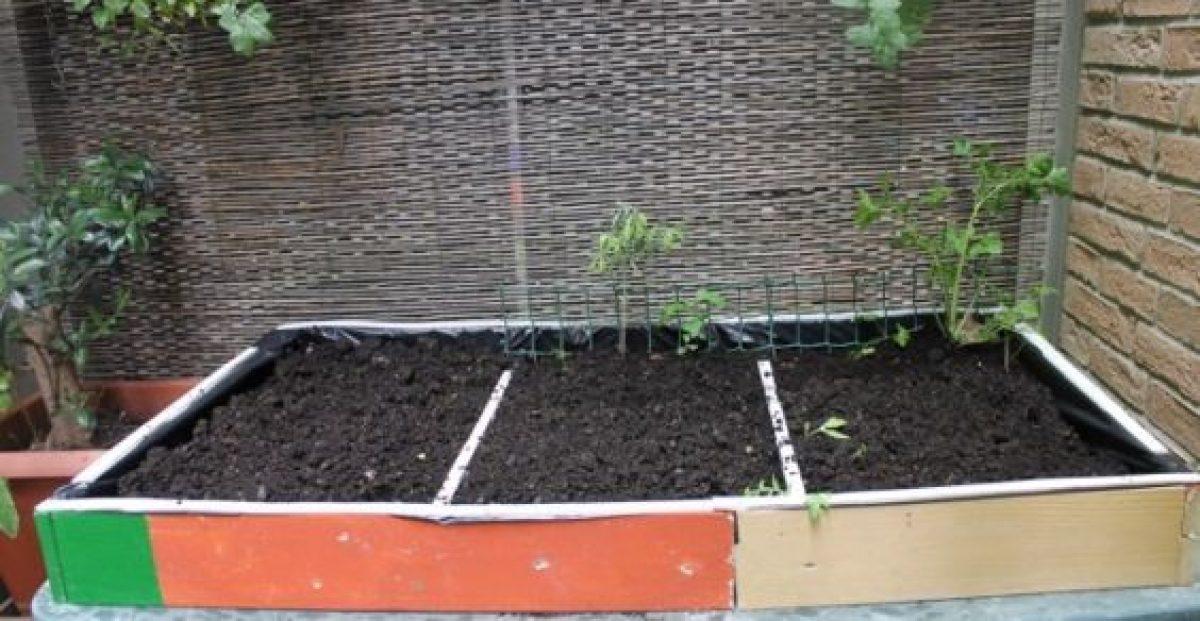 Costruire Un Tavolo Da Giardino.Orti Sul Balcone Come Costruire Un Tavolo Orto Fai Da Te Greenme It