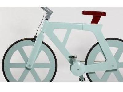 bici cartone