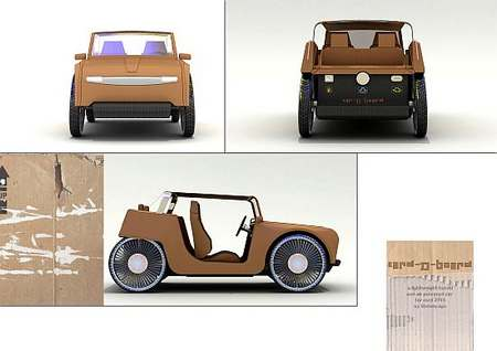 cartone auto ibrida