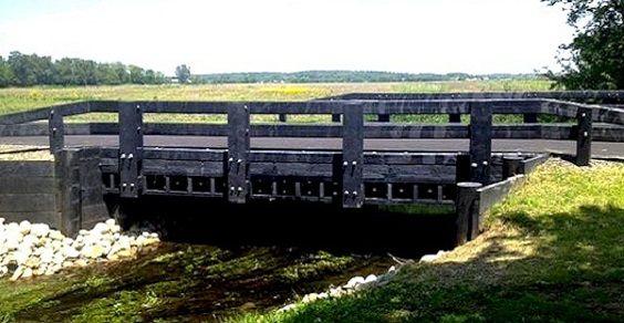 ponte di plastica