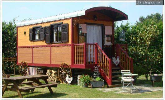 glamping caravan francia