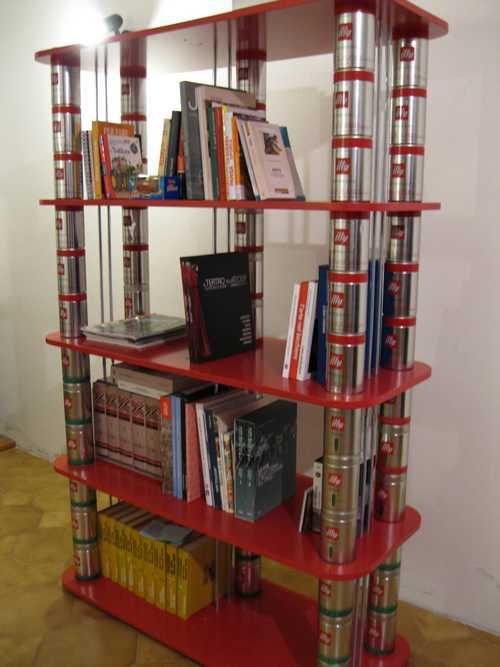 libreria barattoli