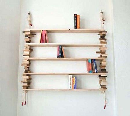 Realizzare Scaffale In Legno.10 Librerie E Scaffali Dal Riciclo Creativo Greenme It