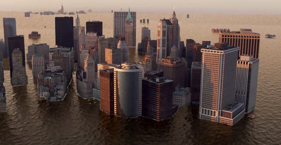 riscaldamento globale new york