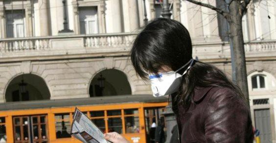 smog polmone