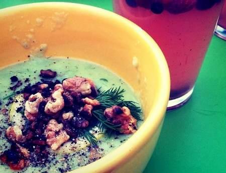 zuppa verdure fredda
