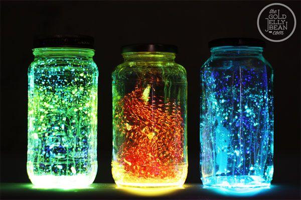 barattoli fluorescenti