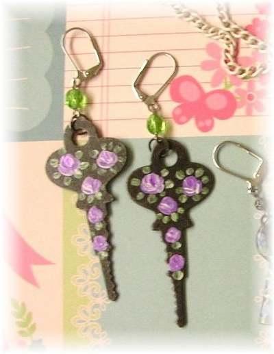 chiavi 1 orecchini