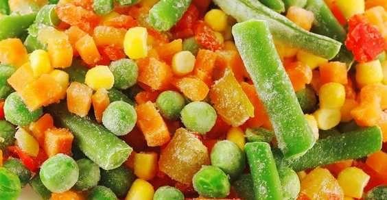 congelare frutta verdura