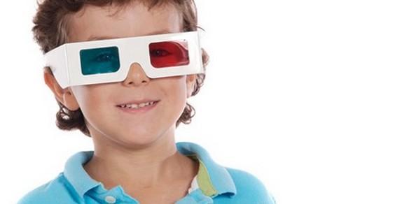 occhiali 3d bambini
