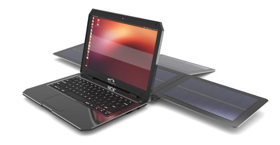 portatile solare ubuntu