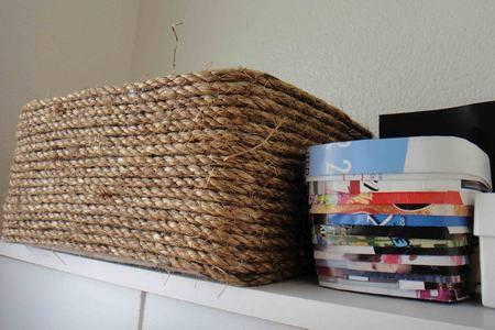 scatole di scarpe 6 cestino