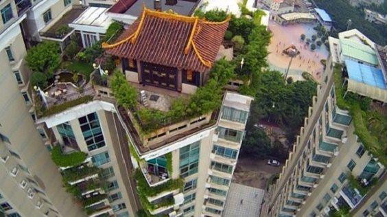tempio sul tetto