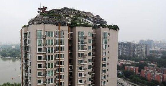 villa sul tetto