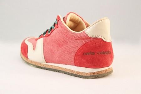 carta vetrata scarpe