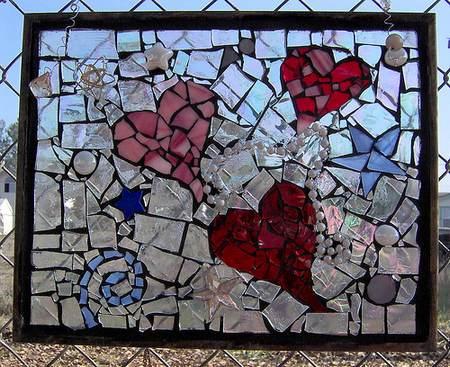 bicchieri rotti 3 mosaico