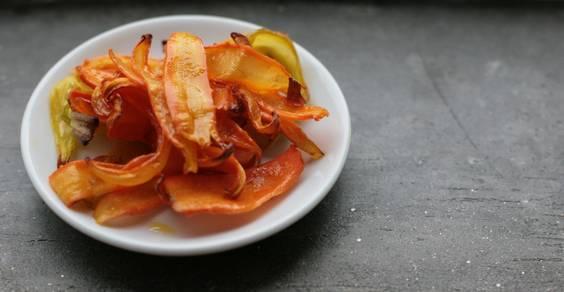reputable site d9350 35c3f Chips di carote: la ricetta per prepararle in casa