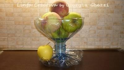 fruttiera 2 bottiglie
