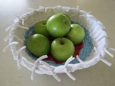 fruttiera 7 a maglia