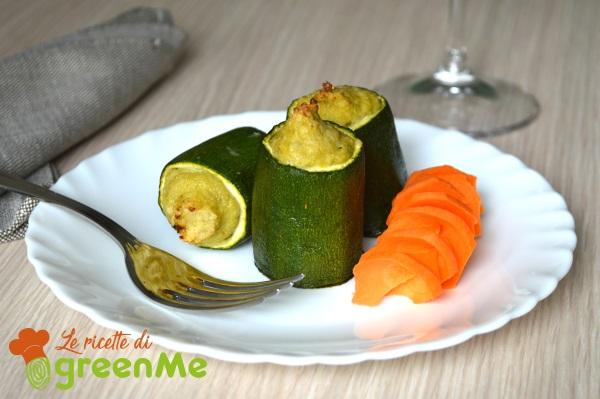 zucchine ripiene con asparagi