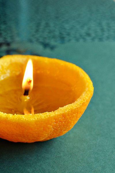 candele 1 arancia