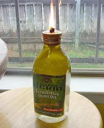 candele 6 bottiglia