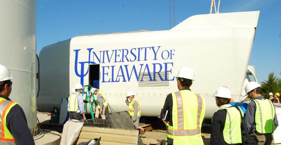 delaware eolico paga ricerca universitaria