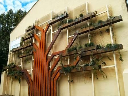 giardino verticale albero 1