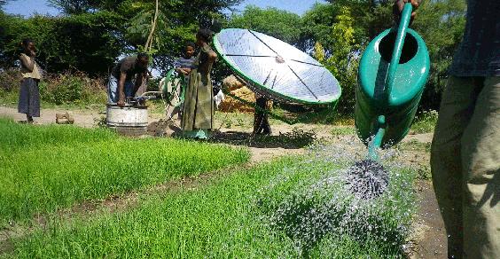 pompa irrigazione energia solare