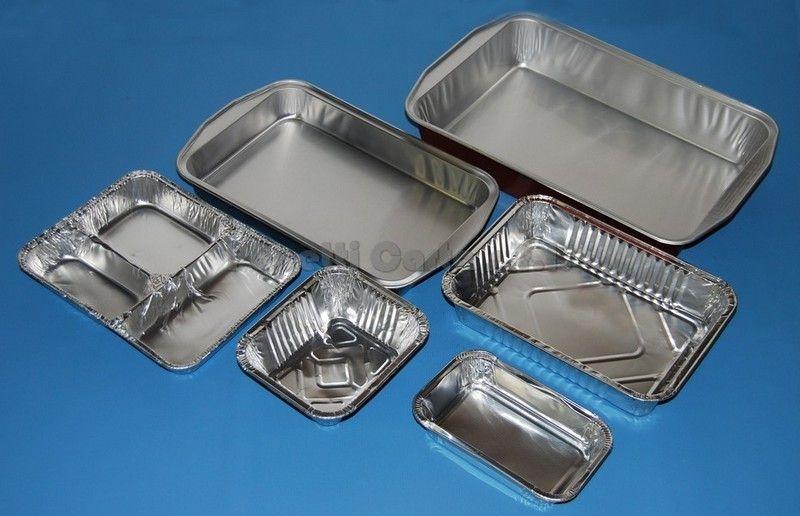 354 Contenitori-Alluminio-Rettangolari