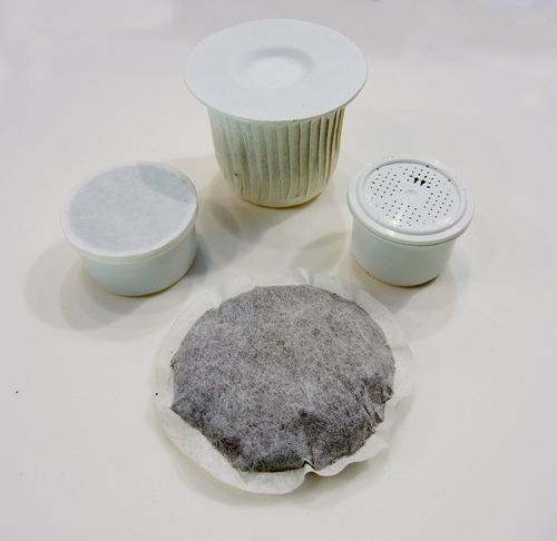 Capsule e cialde biodegradabili