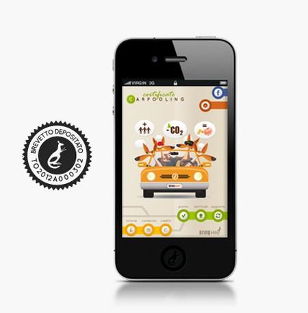 carpooling certificate app