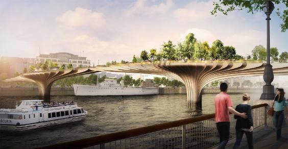 garden bridge cover