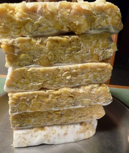 homemade tempeh