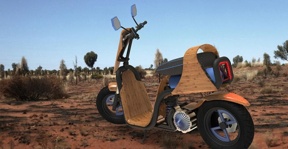 scooter bamboo1