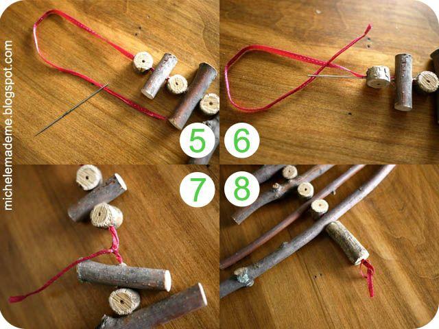 Twig Christmas Tree steps5-8